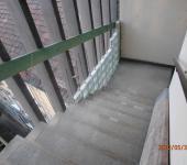 Lépcsőházi üvegtégla