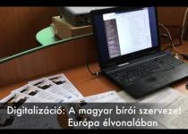Embedded thumbnail for Digitalizáció: A magyar bírósági szervezet Európa élvonalában