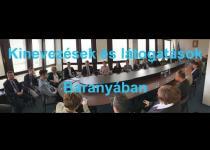 Embedded thumbnail for Kinevezések és látogatások Baranyában