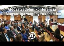 Embedded thumbnail for Áldozatvédelmi konferencia a Magyar Igazságügyi Akadémián