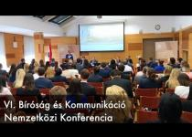 Embedded thumbnail for VI. Bíróság és Kommunikáció Nemzetközi Konferencia