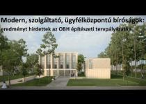 Embedded thumbnail for Eredményt hirdettek az OBH építészeti tervpályázatán