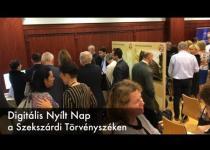 Embedded thumbnail for Digitális Nyílt Nap a Szekszárdi Törvényszéken