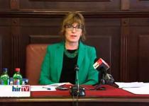 Embedded thumbnail for Az ügyek áthelyezéséről adott tájékoztatást az OBH elnöke (HírTV_2013.04.16.)